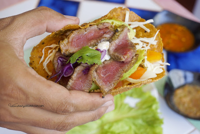 Steak Taco by Taco Beach Grill