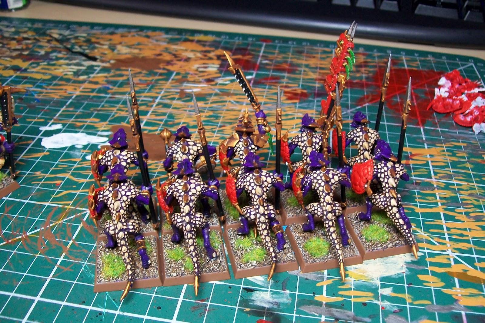 Image - Lizardmen - Saurus Temple Guards (2).jpg   Warhammer Wiki ...