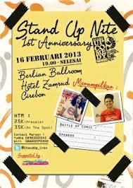 Stand Up Comedy Cirebon