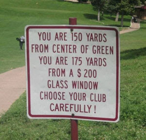 Some Unrevealed Laws Of Golf Game