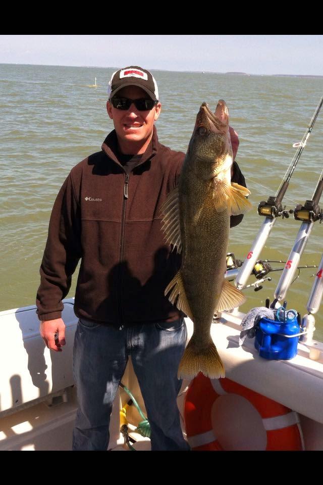 Lake erie walleye fishing reports south dakota guys for South dakota walleye fishing