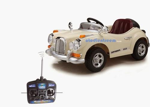 Chi tiết xe ô tô điện trẻ em JE128 hình2