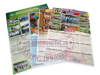 kalender 2014, kalender murah, percetakan, desain kalender 2014