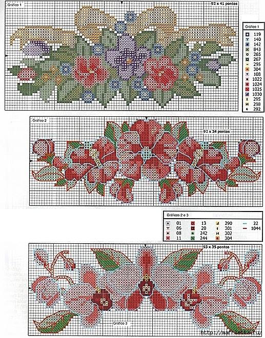 Схемы для вышивания бусина