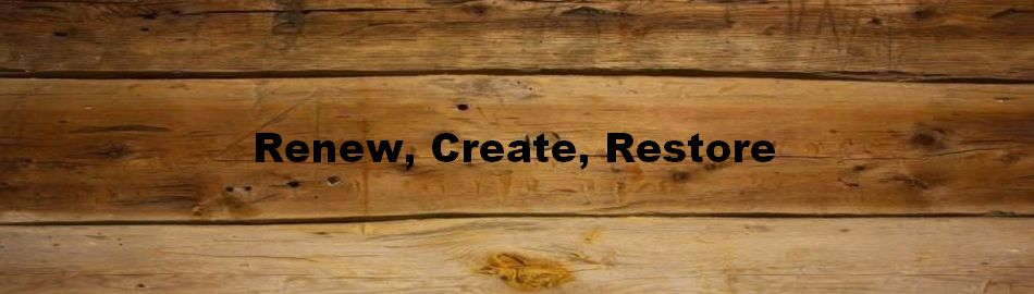 Renew, Create, Restore