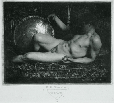 Vintage and Unique Male Nude Artwork