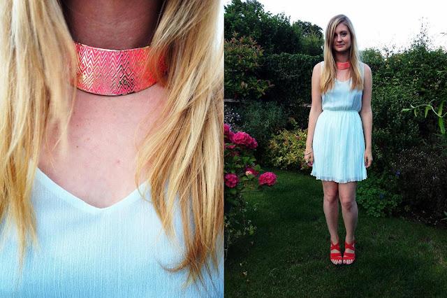 bright Primark collar
