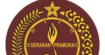 logo vector gerakan pramuka blog stok logo