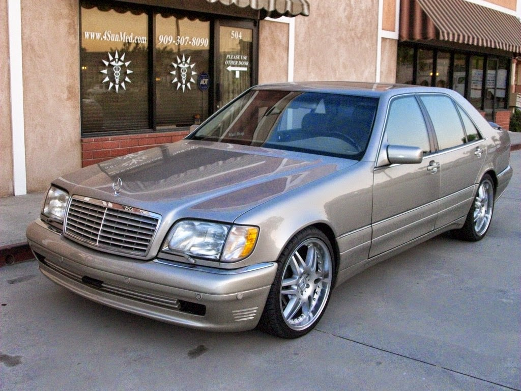 mercedes benz w140 s600 on brabus wheels benztuning. Black Bedroom Furniture Sets. Home Design Ideas