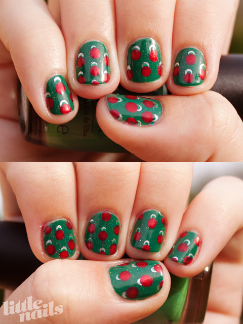 childrenhairstyles22 girls holiday fingernails and nail art
