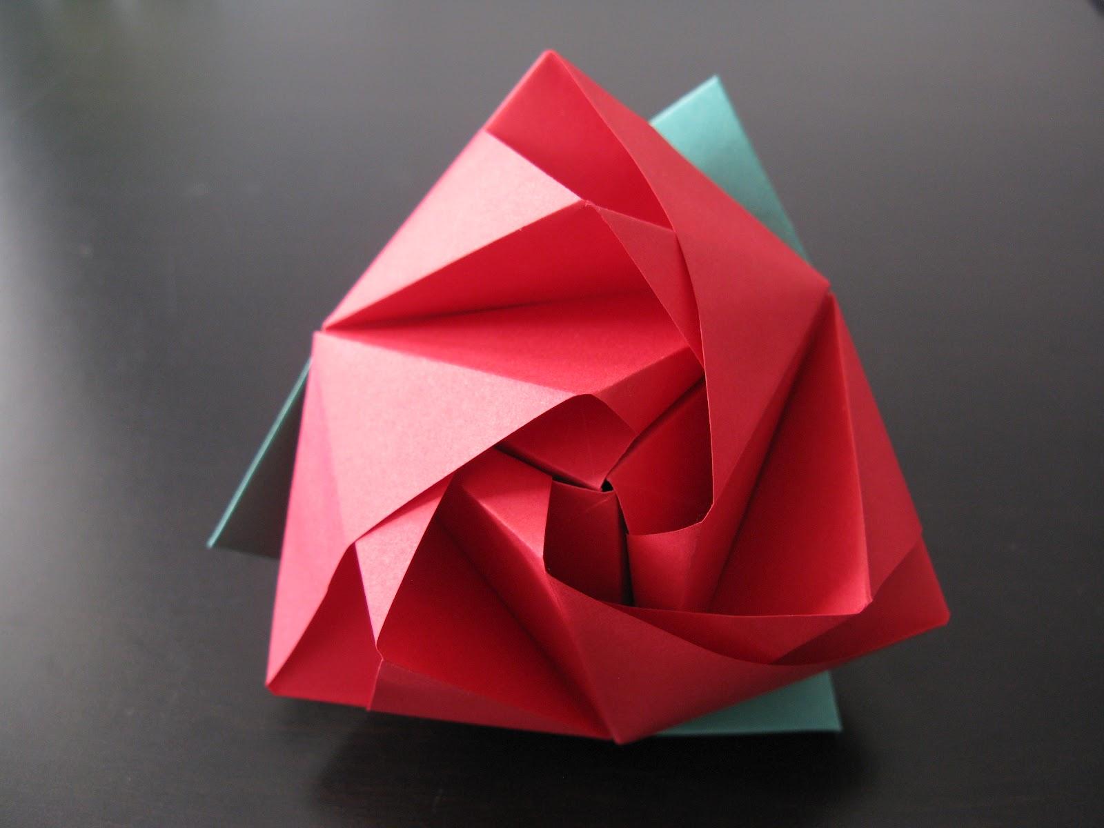 Origami-A-Week: Week 19: Magic Rose Cube - photo#46