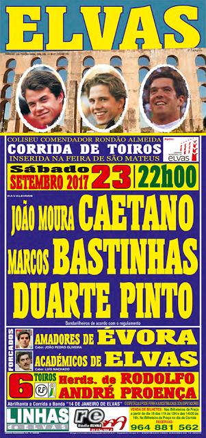 ELVAS (PORTUGAL) 23-092017. CORRIDA A PORTUGUESA.