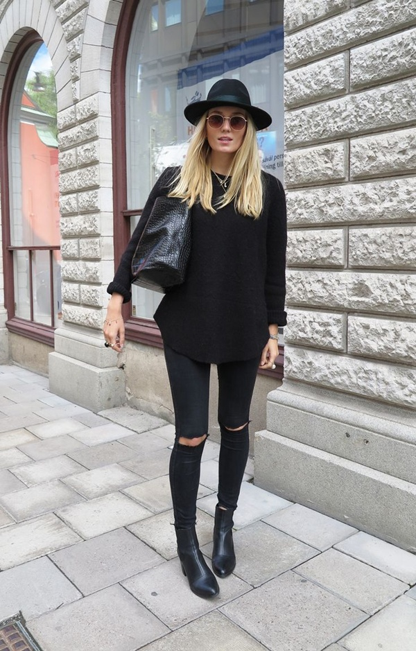 siyah-kot-pantolon
