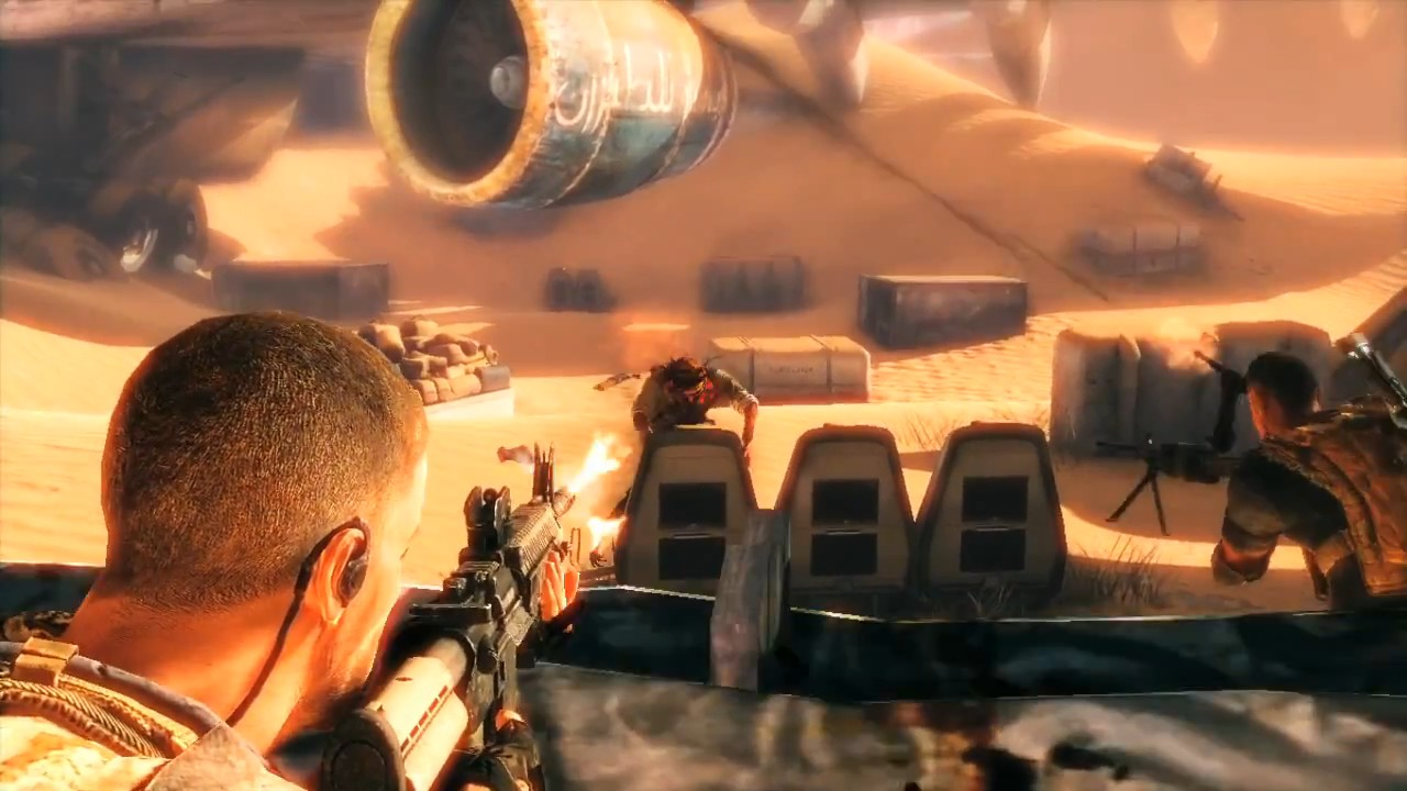 Y.A.B.Ga.B: Crossing the Line, Spec Ops Style