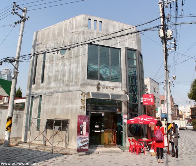 Cafetería Bangcheon Waffle de Daegu