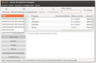 Instalar Synaptic Gtk+3 en Ubuntu 12.04 y posteriores, Synaptic  ubuntu 12.10