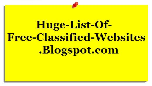 list of free classified websites