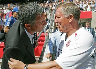 Ferguson Le Manda Un Mensaje A Jose Mourinho