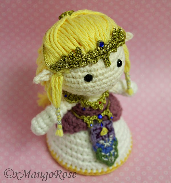 Crochet Zelda Patterns : xMangoRose: Princess Zelda Amigurumi Crochet Doll