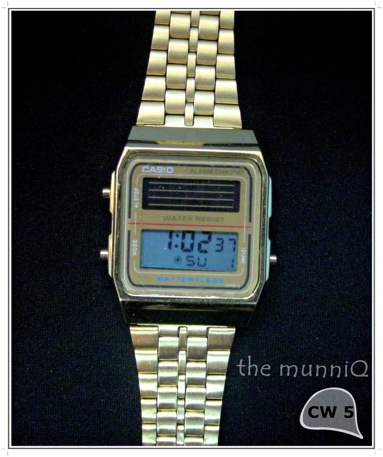 the munniq  vintage classic casio watches