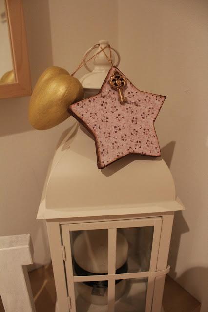 estrella de scrap para decorar