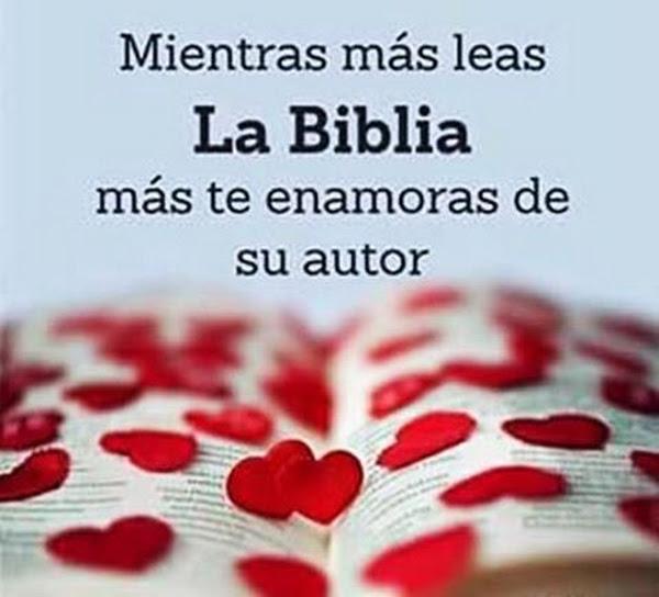 """""""Lee cada día la Biblia"""""""