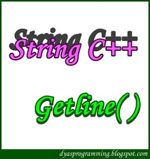 Program C++ Penggunaan Getline() String