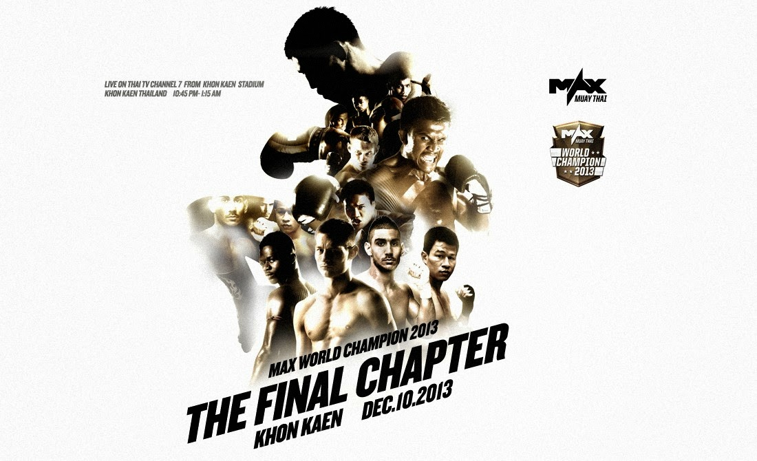 MAX Muay Thai - FINAL, Dec 10th, 2013, Khon Kaen, Thailand