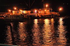 Vista nocturna Puerto de Formosa