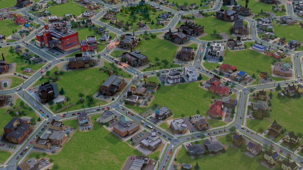 Город в виде шестиугольников - новые скриншоты