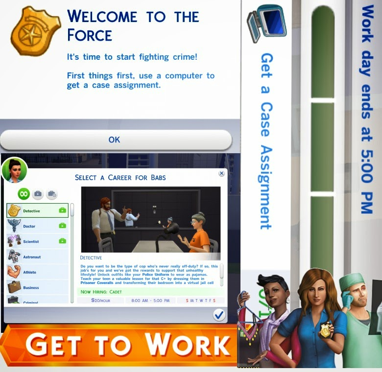 Didi The Simmer Sims 4 Get To Work Starting Your Detective