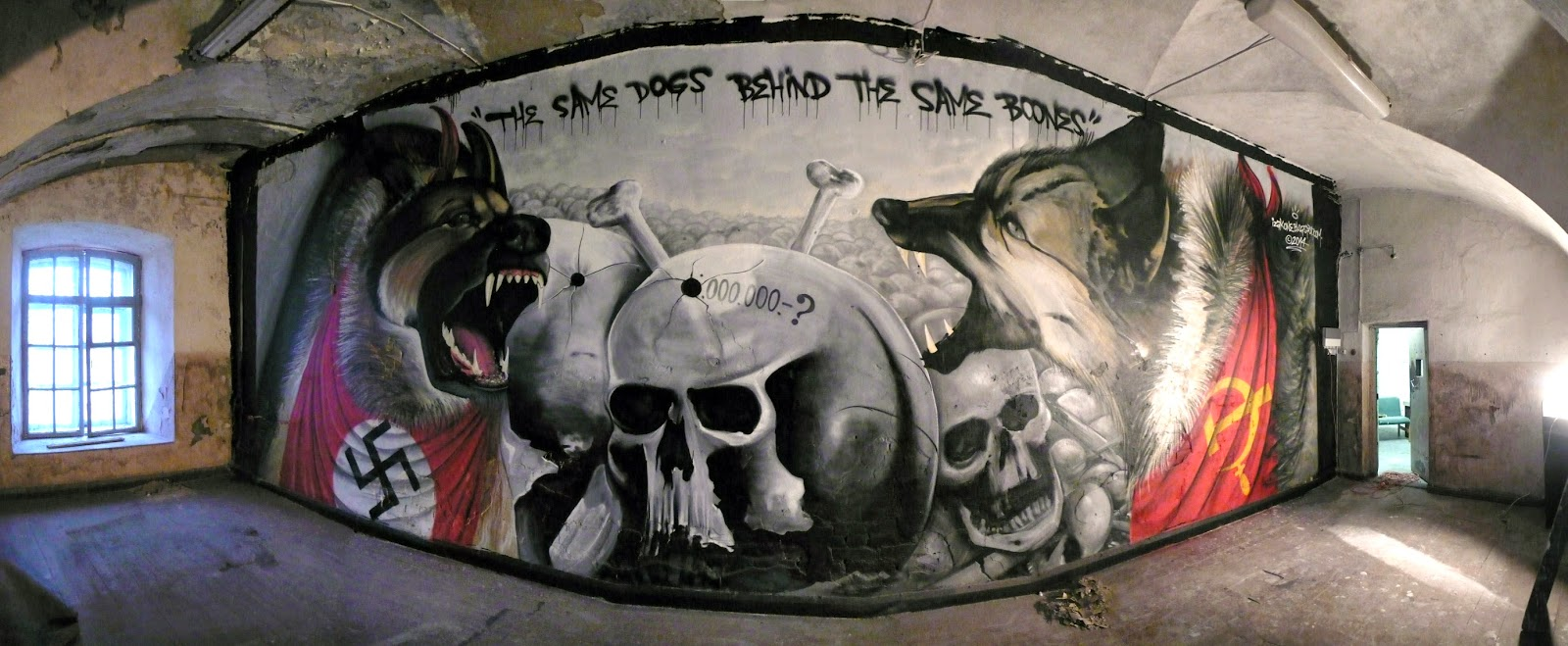 izak one, graffiti, street art, patarei graffiti, patarei vangla, chile, estonia, street art tallinn, graffiti estonia