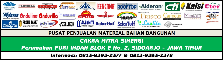 Cakra Mitra Sinergi | atap zincalume | atap bitumen