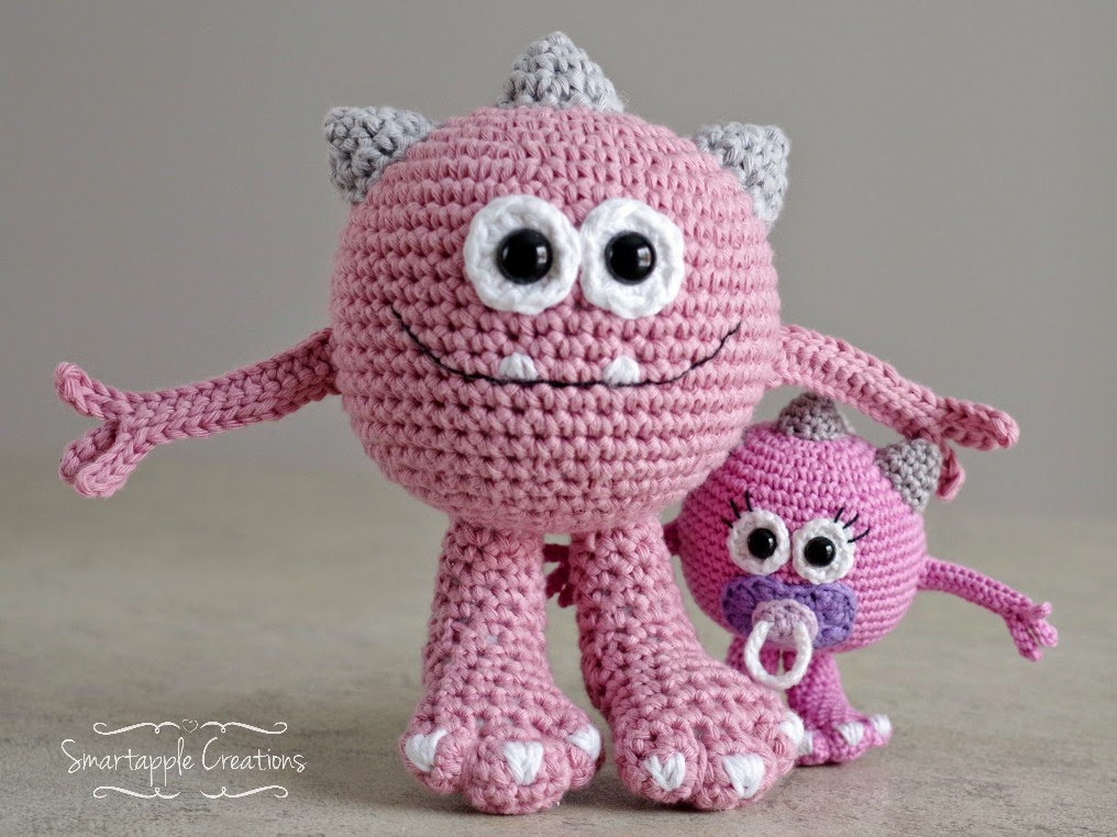 Amigurumi Monster Pattern : Smartapple Creations - amigurumi and crochet: New pattern ...