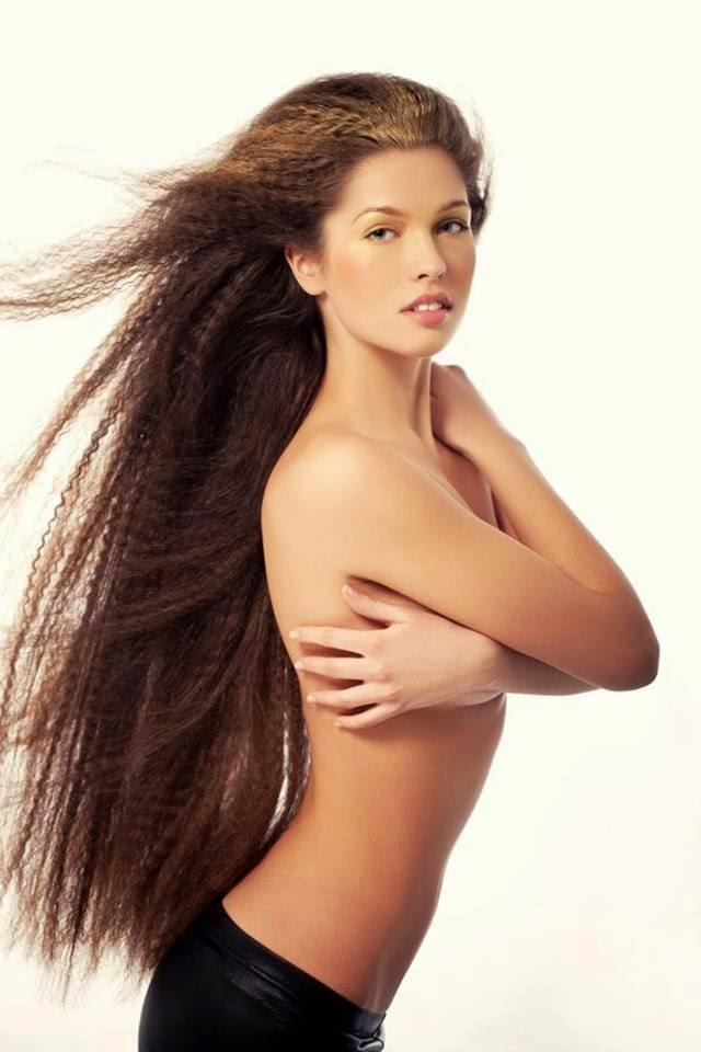 Beautiful Hairs of Elizaveta Golovanova, Miss Russia 2012