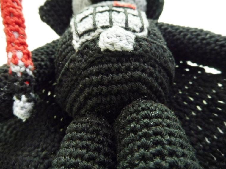 Amigurumi Darth Vader