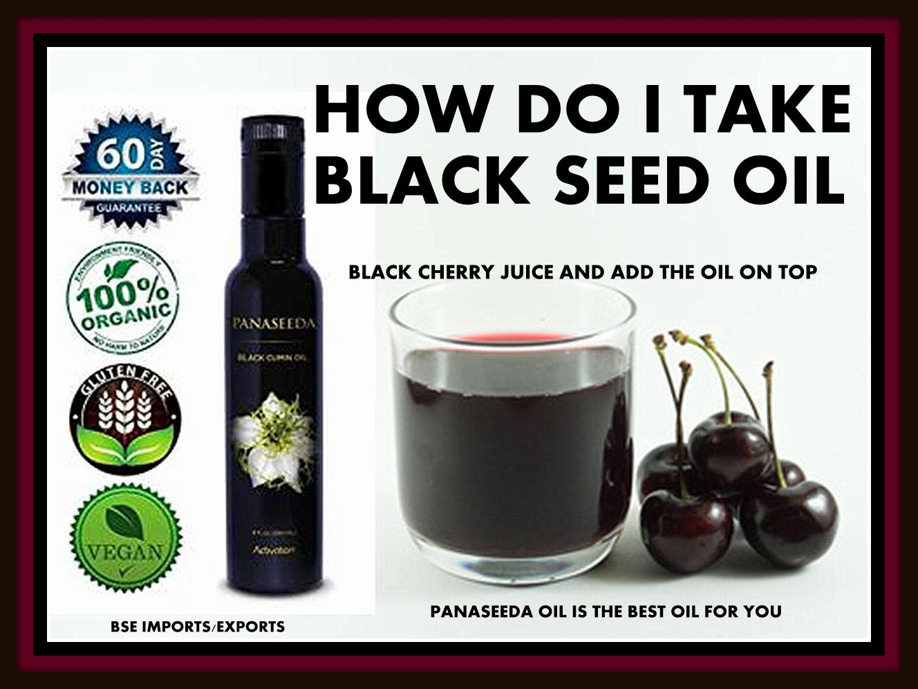DOCTOR RECOMMENDATION ON HOW TO TAKE BLACK SEED OIL