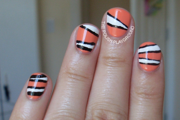 Finding Nemo Inspired Nails