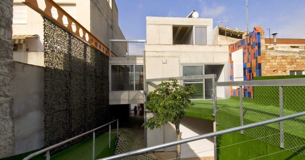 Arquitectura De Casas Casa Urbana Entre Medianeras En Murcia