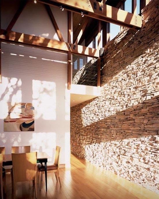 Through The French Eye Of Design Interior Stone Walls