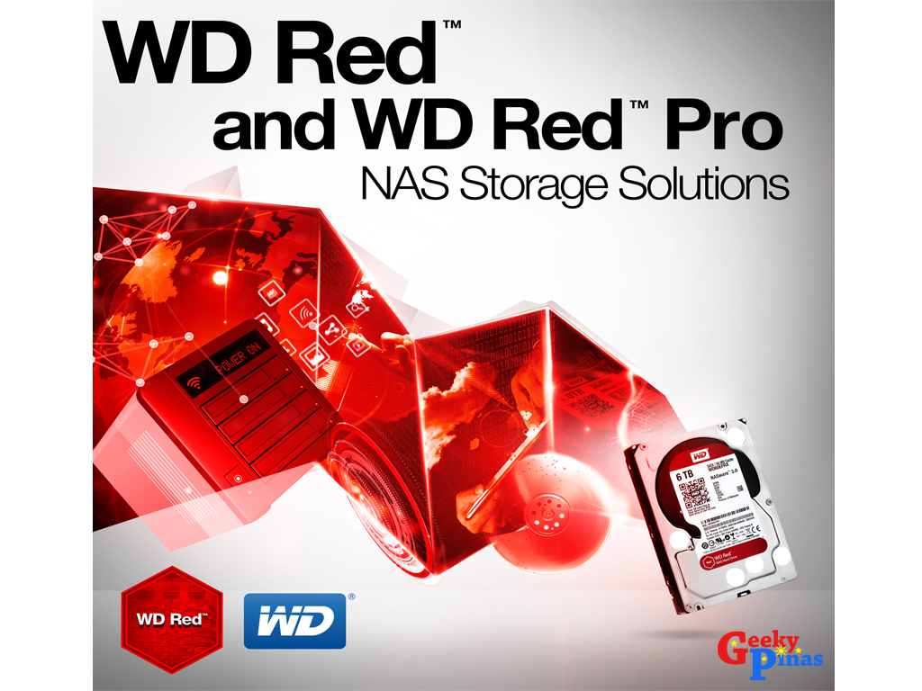 WD Expands NAS Storage Offerings with 6TB, 5 Platter Hard Drive Featuring Industry-Leading Areal Density