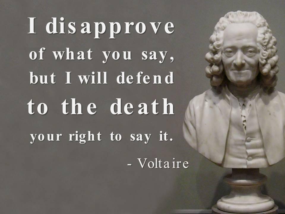 Voltaire Religious Toleration