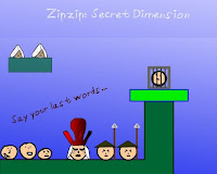 Zipzip Secret Dimension walkthrough.