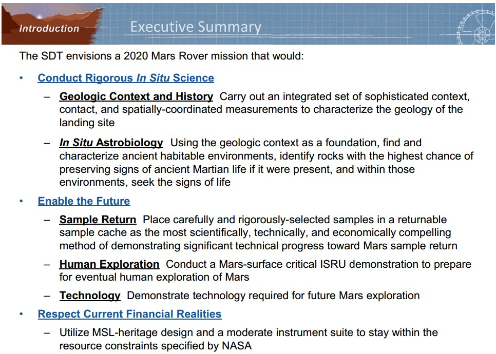 Examples of good and poor executive summaries or abstracts