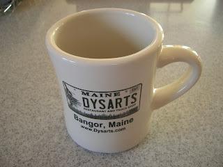 dysarts coffee mug