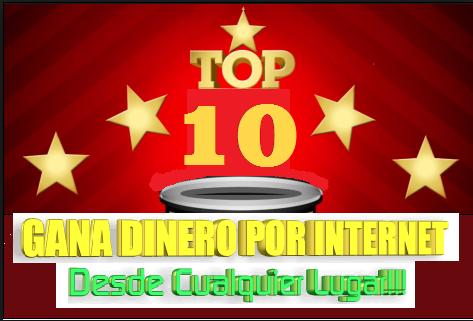 TOP 10 PAGINAS DE GANAR DINERO