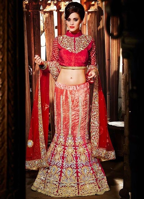 Fashion And Cosmetics Trends: Indian Amazing Bridal Dresses of ...