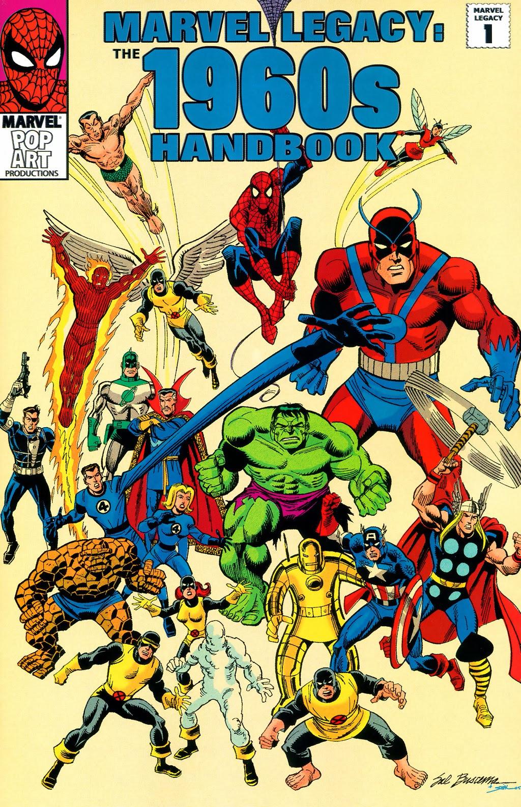 Marvel Super Heroes 60 Superhéroes: Colecciones Del Fin Del Mundo: Enciclopedia Marvel 1960