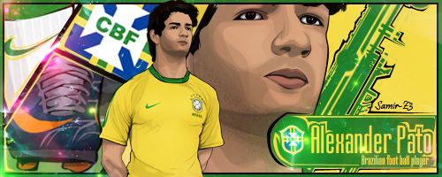 Alexandre Pato Cartoon