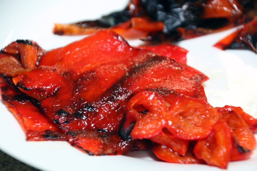 How to Roast Red Bell Pepper